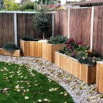 Custom Shiverton garden planters in timber