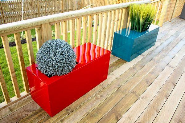 Barrier Bench Planter Garden Bench Taylor Made Planters