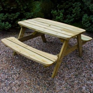 Curved Family Bench