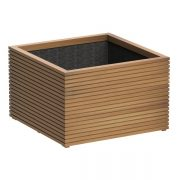 Timber Dorchester with square grooved design