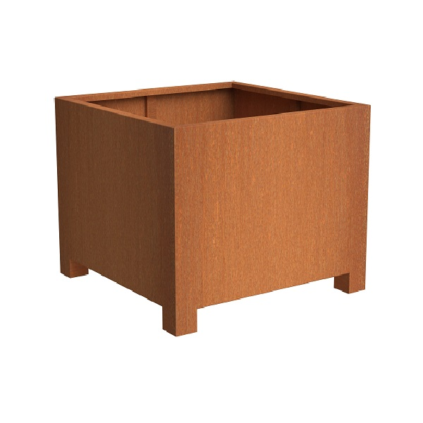 Andes design in the Corten Steel planters collection
