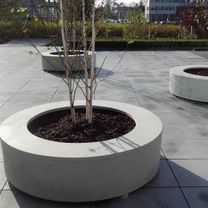 Polymer Concrete Planters